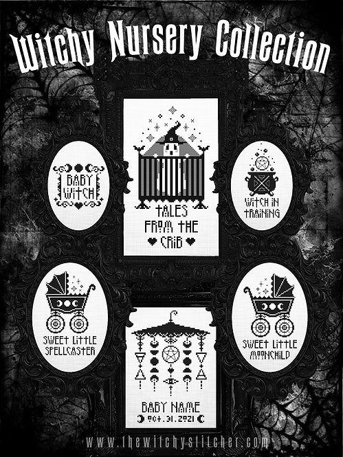 Witchy Nursery Collection ~ PDF Pattern