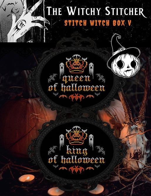 Queen / King of Halloween ~ PDF Pattern