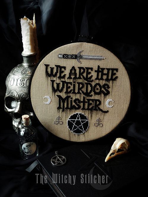 We Are The Weirdos Mister ~ PDF Pattern