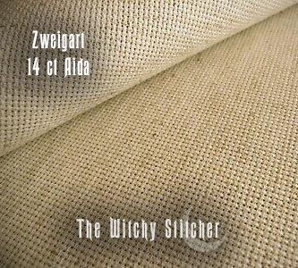 Fiddler's Cloth Aida ~ 14 ct Zweigart