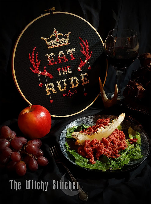 Eat The Rude ~ Hannibal ~ PDF Pattern