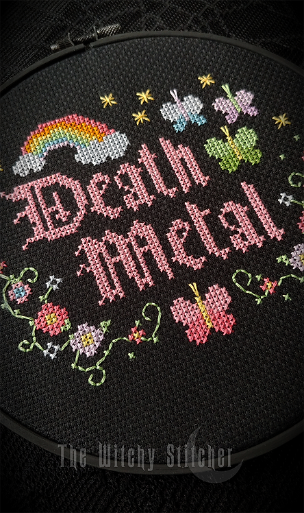 Death Metal ~ PDF Pattern