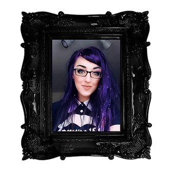 The Witchy Stitcher - Meg Black transpar