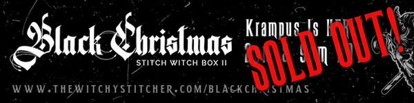 SOLD OUT Krampus Is Here Banner - The Wi