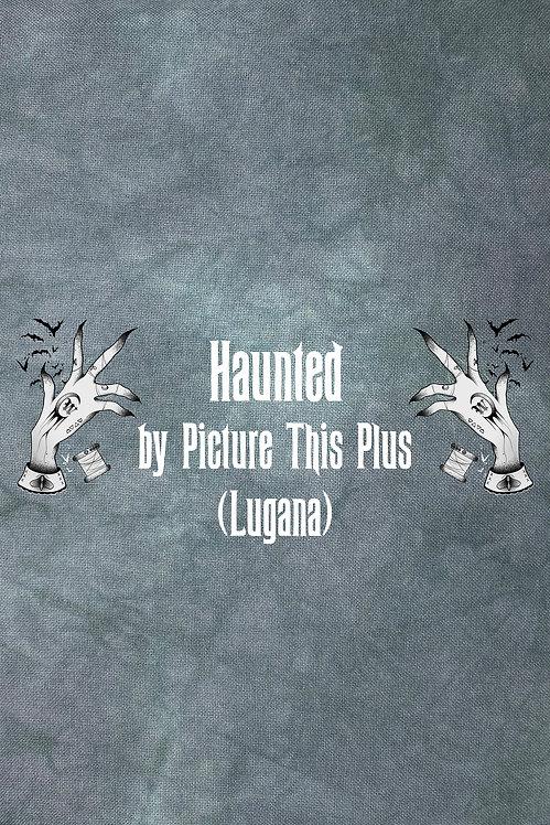 Haunted 28 ct Lugana - Hand Dyed Fabric