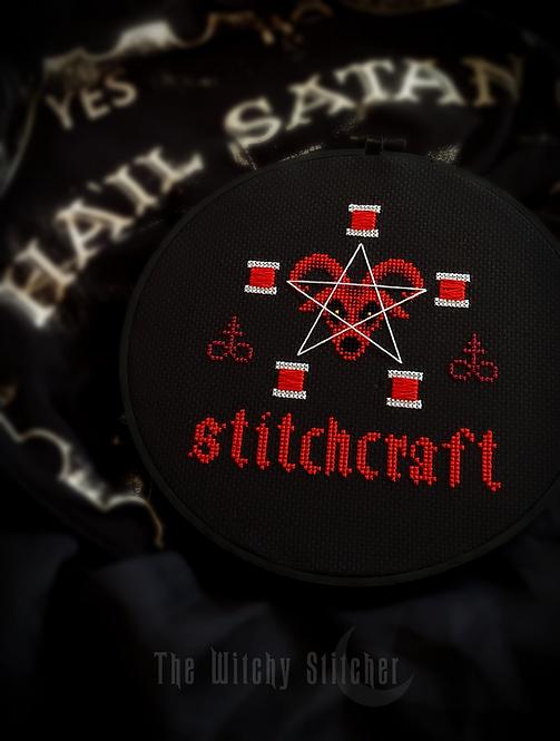 Stitchcraft Baphomet ~ PDF Pattern
