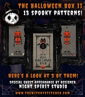 Teaser 3 Patterns Halloween Floss - The