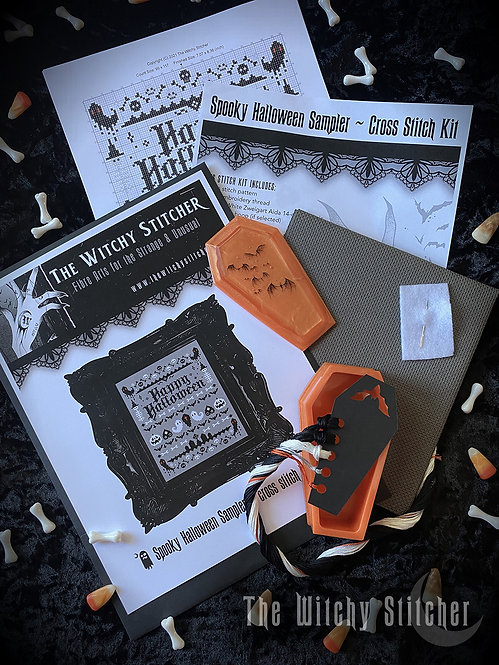Limited Edition KIT ~ Spooky Halloween Sampler