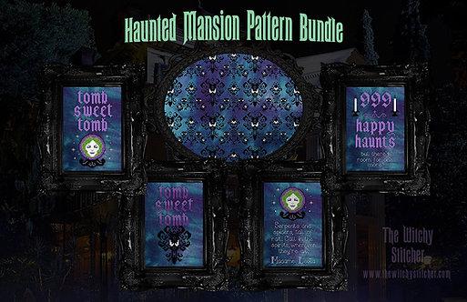 Haunted Mansion Pattern Bundle ~ PDF Patterns