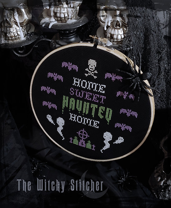 Home Sweet Haunted Home ~ PDF Pattern