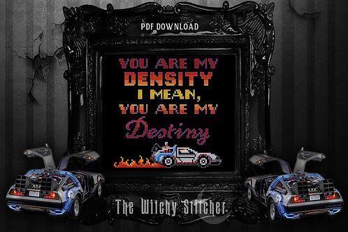 You Are My Density ~ PDF Pattern