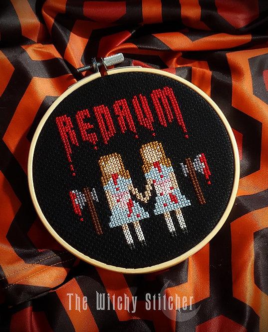 Redrum ~ Grady Twins ~ PDF Pattern