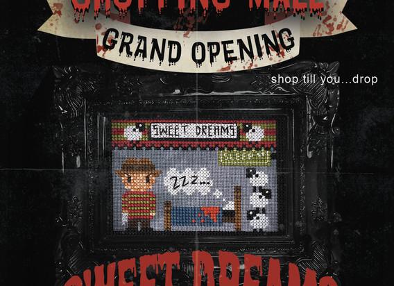 Freddy Krueger Sweet Dreams 3 - Chopping Mall Sal - Cross Stitch - The Witchy Stitcher.jpg