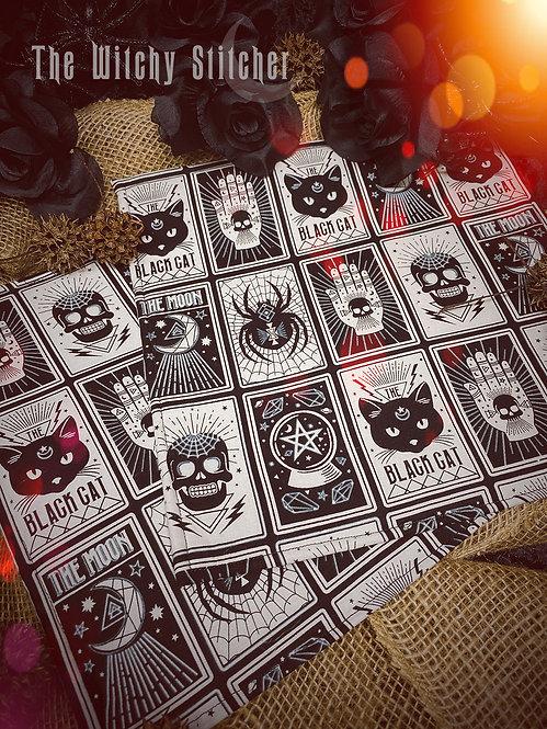 Spooky Tarot Project Bag