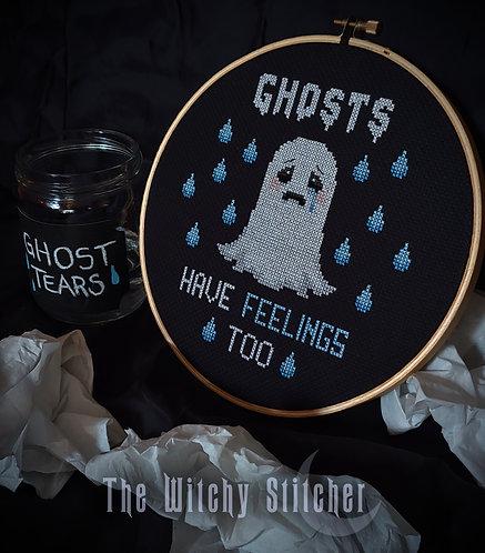 Ghosts Have Feelings Too ~ PDF Pattern