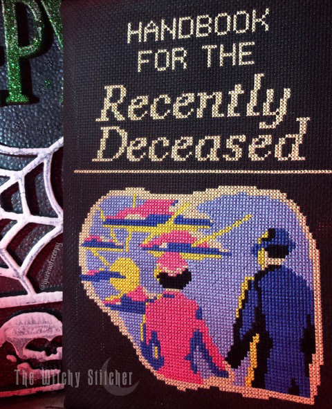 Handbook For The Recently Deceased ~ PDF Pattern