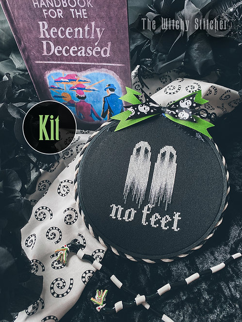 KIT ~ No Feet Ghosts ~ Beetlejuice