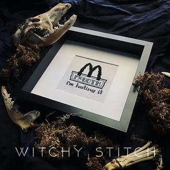 McGoth - Im Hating It - Witchy Stitch -