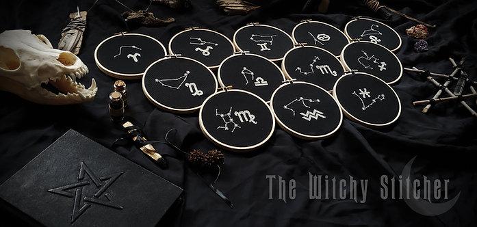 Zodiac Constellation Set ~ PDF Patterns