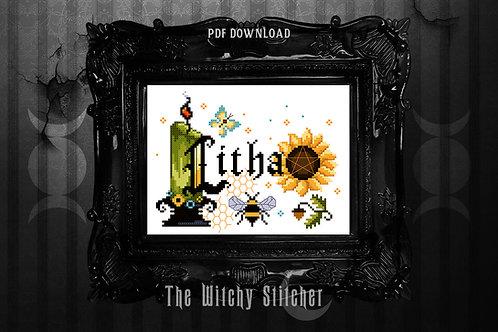 Litha Sabbat ~ PDF Pattern