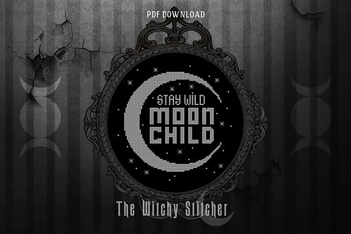 Stay Wild Moon Child ~ PDF Pattern