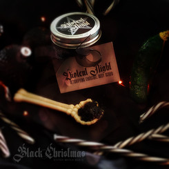Black Christmas Stitch Witch Box Teasear