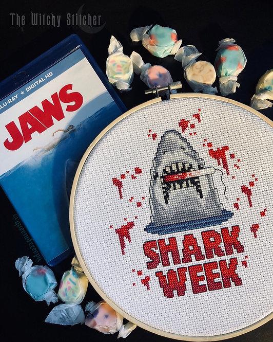 Shark Week ~ PDF Pattern