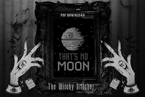 That's No Moon ~ PDF Pattern
