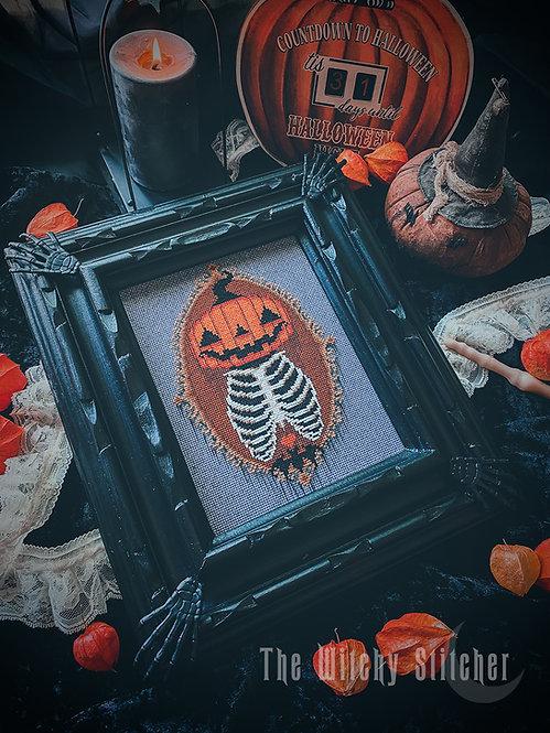 Halloween Mourning  ~ PDF Pattern