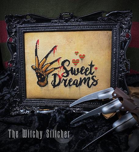 Sweet Dreams ~ Freddy Krueger ~ PDF Pattern