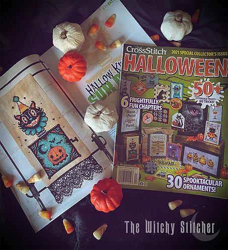 Just Cross Stitch Magazine - Special Halloween Issue