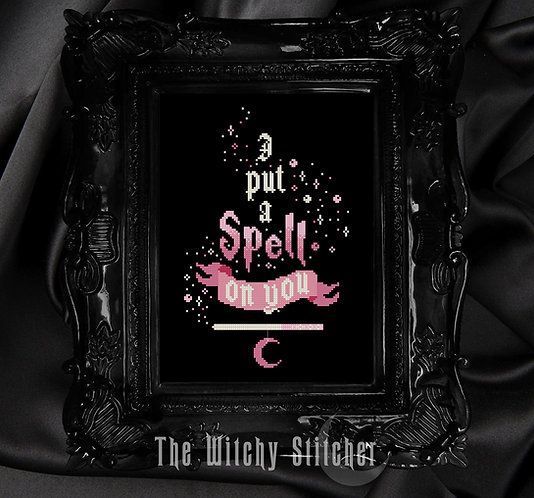I Put A Spell On You ~ PDF Pattern