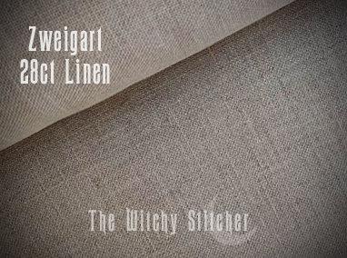 Natural Raw Cashel Linen ~ 28 ct Zweigart