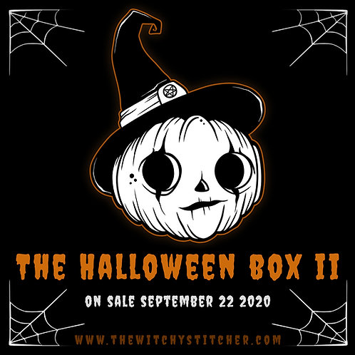 Stitch Witch Box ~ The Halloween Box II ~ ON SALE SEPT 22
