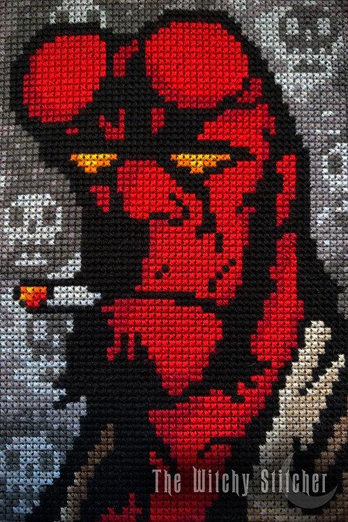 Hellboy ~ PDF Pattern