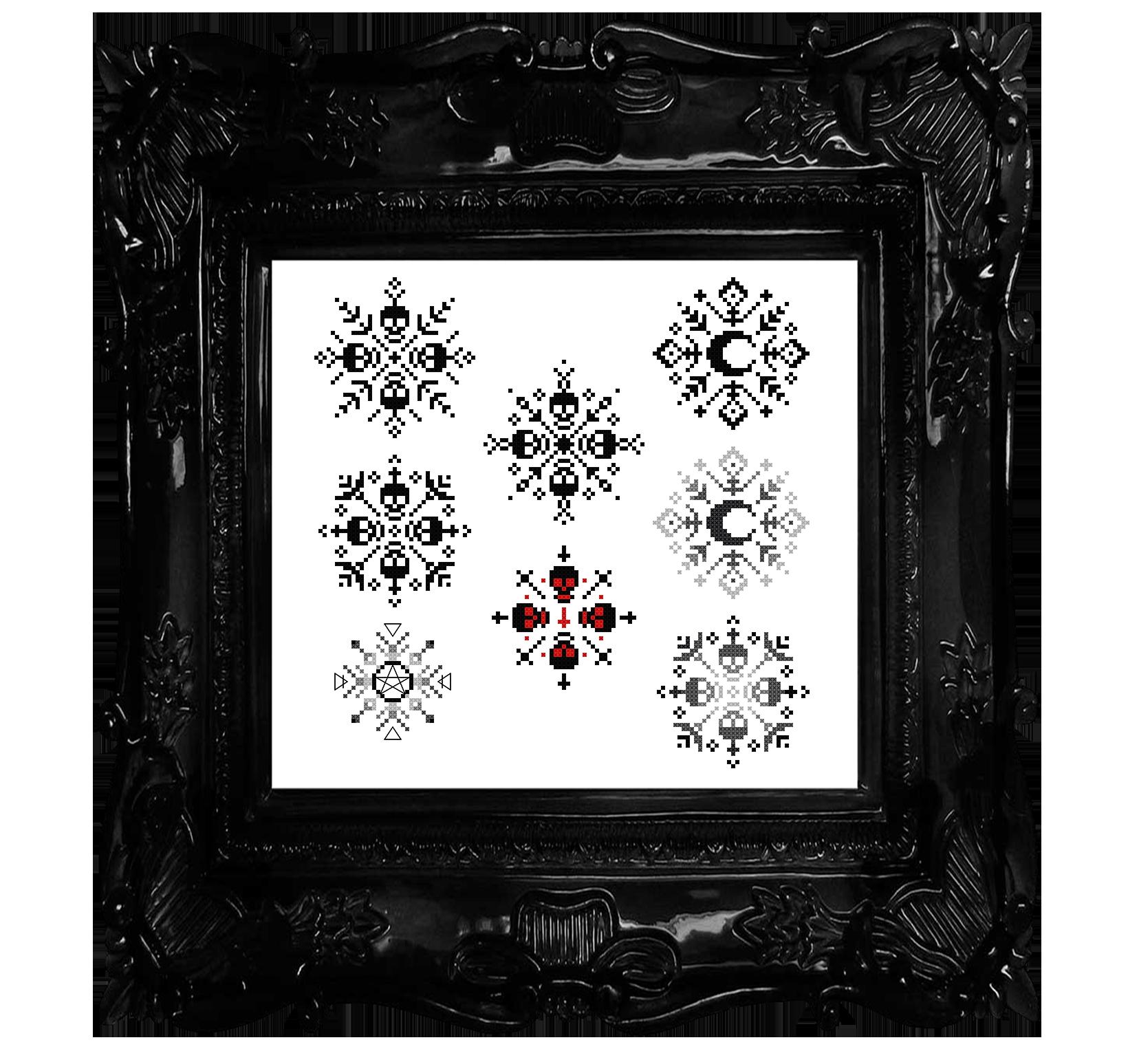 Gothic Snowflakes