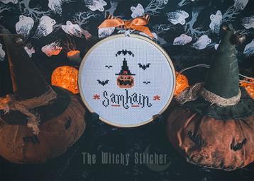 Samhain Mini - finished stitch - The Wit
