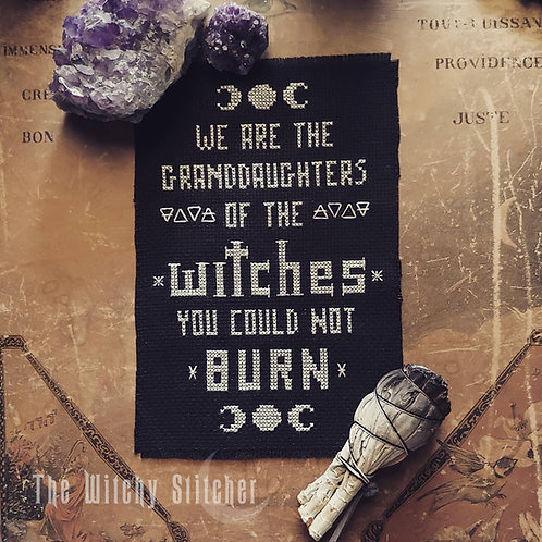 Witches You Could Not Burn ~ PDF Pattern