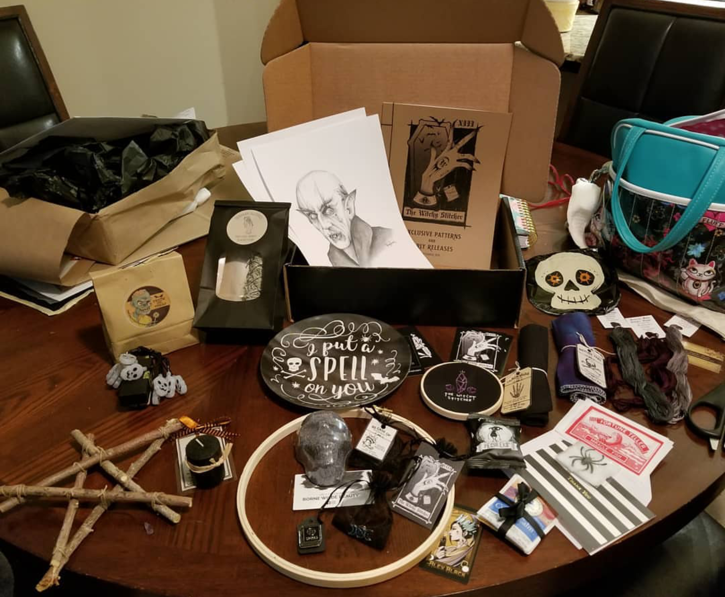 Stitch Witch Box - The Witchy Stitch