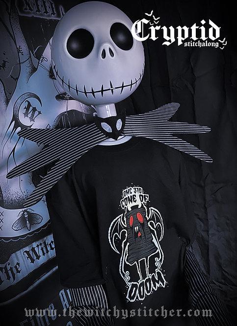 Cone of Doom Cryptid Shirt ~ DMC 310