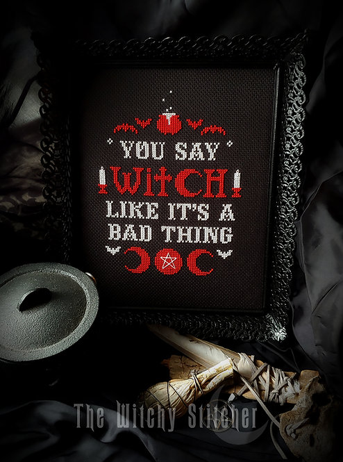 You Say Witch Like It's A Bad Thing ~ PDF Pattern