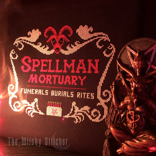 Spellman Mortuary ~ PDF Pattern