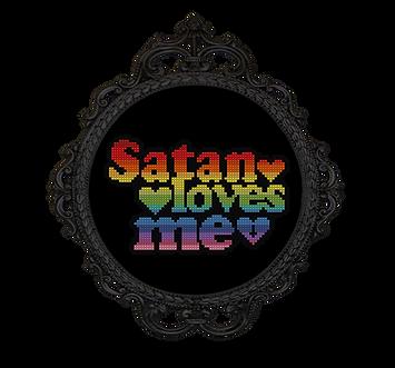 Satan Loves Me - transparent - The Witch