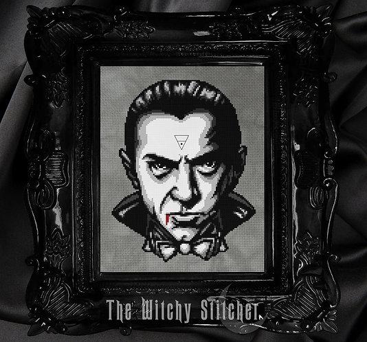Bela Lugosi ~ Dracula ~ PDF Pattern