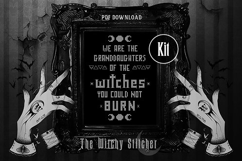 KIT ~ Witches You Could Not Burn