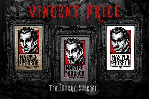 Vincent Price Portrait ~ PDF Pattern