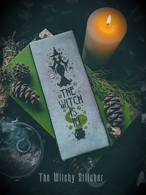 The Witch Is In ~ PDF Pattern
