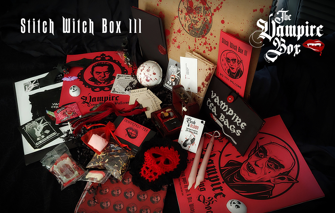 Stitch Witch Box - Vampire Box - The Wit