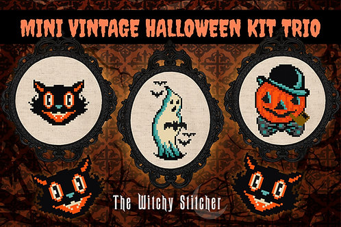 KIT ~ Mini Vintage Halloween Trio