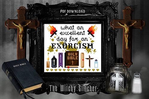 Exorcism ~ The Exorcist ~ PDF Pattern
